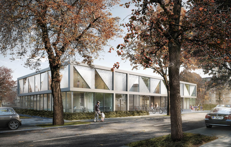 day care center rathausstra e berlin tempelhof sch neberg dr l chinger meyer bauingenieure ag. Black Bedroom Furniture Sets. Home Design Ideas